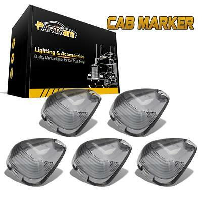 $10.66 • Buy 5x Smoke Cab Marker Clearance Light Lens Covers For Ford F-250 F-350 Super Duty