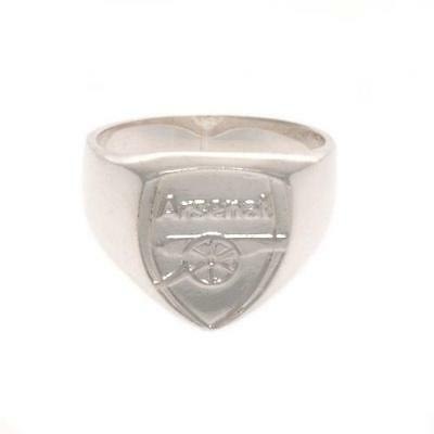 £32.99 • Buy Arsenal FC Sterling Silver Ring In 3 Sizes Official Merchandise