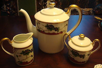 $80 • Buy Christian Dior Tea Set, In The  Chinese Flower  Pattern Made In Japan