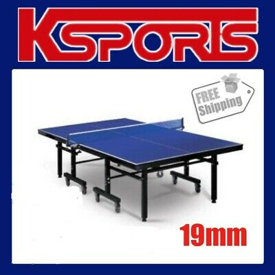 AU478 • Buy Table Tennis Ping Pong Table Pro Size 19mm Top - Professional Size