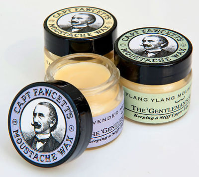 Captain Fawcett's Moustache Wax In Various Scents  • 10.90£