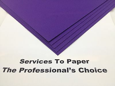 £13.99 • Buy Cadbury Purple Acid Free Extra Thick Card A4 300gsm 50 Sheets  ** New Stock **