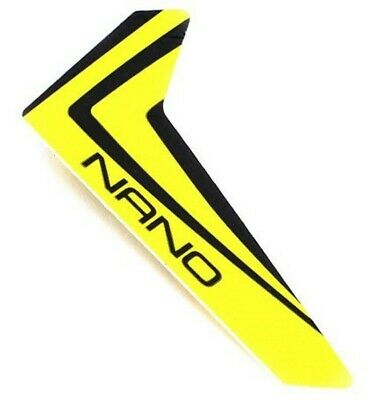 £2.02 • Buy Blade BLH3320 Nano CP X Yellow Vertical Fin With Decal CPX NCPX NCP X
