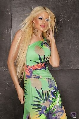 £29.95 • Buy Fashion Coctail Summer Party Long Maxi Ladies Dress Sexy One Size 8 10 12