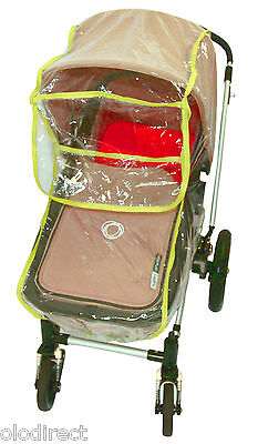Rain Cover Fit Bugaboo Cameleon Silver Cross Surf ICandy Apple Peach Strawberry • 8.65£