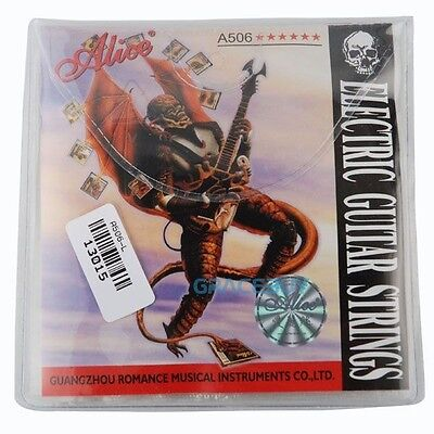 $ CDN28.95 • Buy 10 Sets Alice 010 Electric Guitar Strings Steel Core Light Guitar String Set
