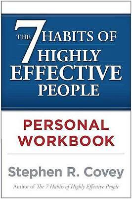 AU22.49 • Buy The 7 Habits Of Highly Effective People Personal Workbook By Stephen R. Covey (E