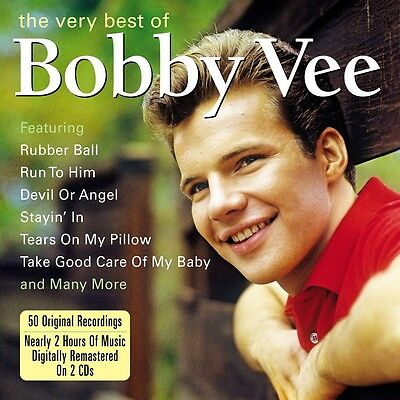 $6.99 • Buy Bobby Vee VERY BEST OF 50 Tracks ESSENTIAL COLLECTION Remastered NEW SEALED 2 CD