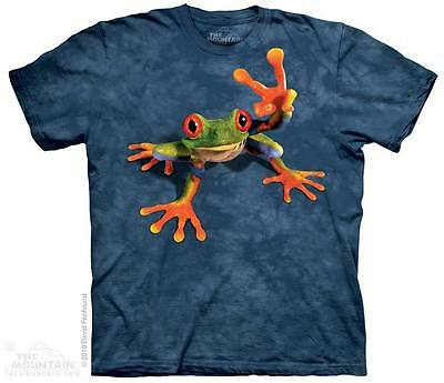 £27.99 • Buy VICTORY FROG The Mountain T Shirt Peace Unisex