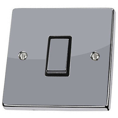 Plain Silver Light Switch & Power Socket Stickers Skin Decal Vinyl Cover Grey • 1.99£