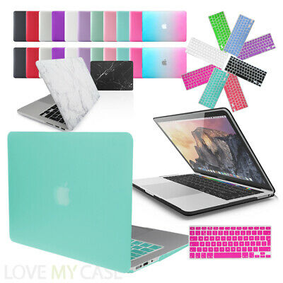 £4.95 • Buy Rubberized Hard Case Cover With Keyboard Skin For Apple MacBook Air, Pro, Retina