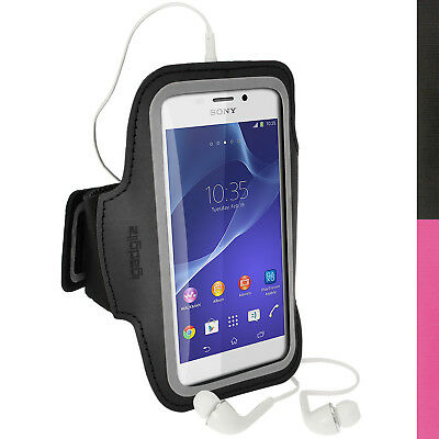 Running Jogging Sports Armband For Sony Xperia M2 D2303 Case Cover Fitness Gym • 1.99£