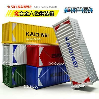 Rare 1:64 20ft KDW Alloy Metal Container DIECAST MODEL 1/50 13cm 5  Ramdon Color • 11.83£