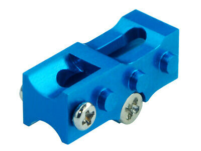 £4.63 • Buy Microheli Alum 2mm Tail Boom Mount BLUE For MH-NCPX005X Blade NCPX / Nano Cpx