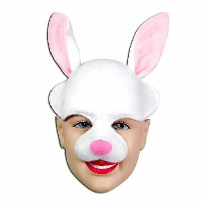 Animal Bunny Rabbit Headband Masquerade Masked Ball Half Mask Fancy Dress UK • 7.95£