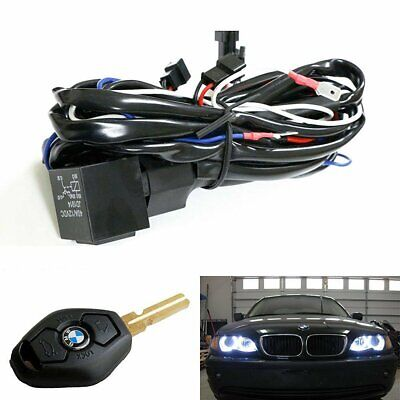 $14.99 • Buy Angel Eye Halo Rings LED/CCFL Relay Harness W/ Fade-In Fade-Out Feature For BMW