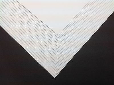 £7.99 • Buy 50 X A4 Ice White Pearlescent Shimmer Pearl Paper 120gsm ~ Double Sided
