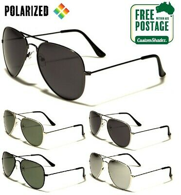 AU19.95 • Buy Air Force Series Sunglasses - Polarized Lens - Mens / Womens - Polarised - Pilot