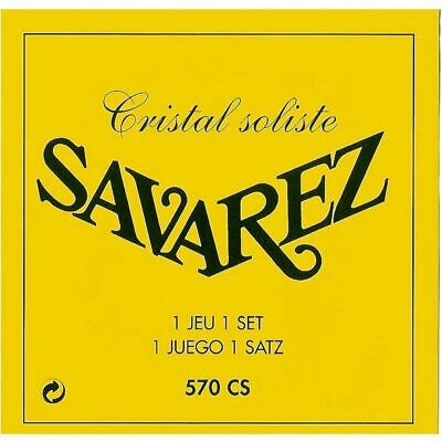 $ CDN23.09 • Buy Savarez 570CS Cristal Soliste Classical Guitar Strings High Tension