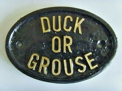 £4.99 • Buy Duck Or Grouse  Lo Beams 'avoid Bumping Your Head' House Sign Business Plaque