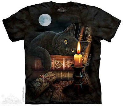 £26.99 • Buy THE WITCHING HOUR The Mountain T Shirt Cat Pagan Wicca Lisa Parker Unisex