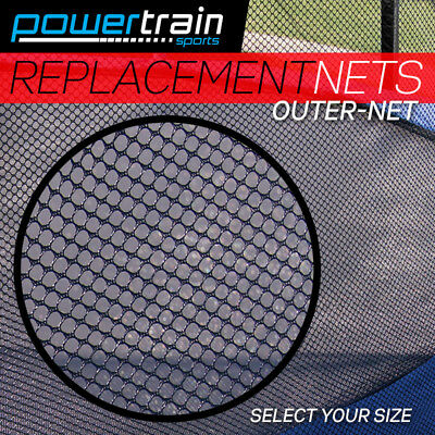 AU59 • Buy NEW REPLACEMENT TRAMPOLINE SAFETY NET OUTDOOR ENCLOSURE 8ft 10ft 12ft 14ft 16ft