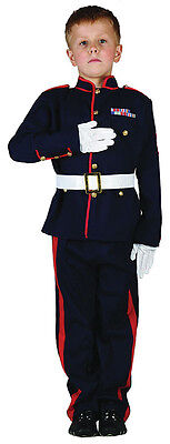 £11.99 • Buy Boys Army Uniform Royal Guard Soldier Military Kids Costume Outfit 4-6-8-10