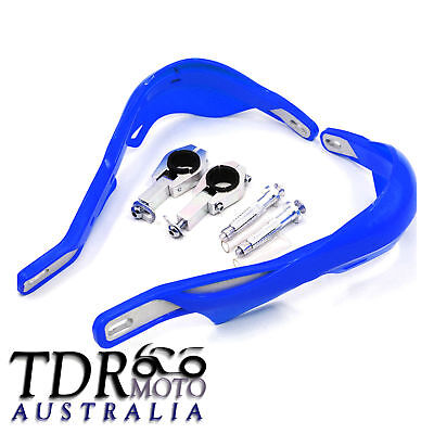 AU39.98 • Buy Motorcycle Hand Guards Yamaha Wr Yz Xt Ttr 125/250/400/450 Blue Solid Alloy