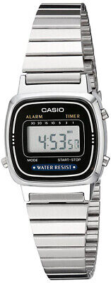 $ CDN23.50 • Buy Casio Women's Digital Silver-Toned Stainless Steel Watch LA670WA-1