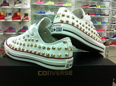 converse sneakers basse bianche