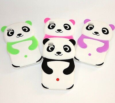 £5.77 • Buy For IPod Touch 4th Generation - Soft Rubber Silicone Skin Case Cover PANDA BEAR