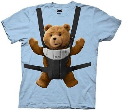 $12.95 • Buy Ted Movie Baby Carrier Licensed Adult T-Shirt