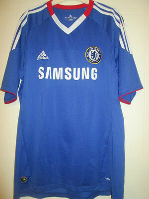 Chelsea 2010-2011 Home Football Shirt Size Large Jersey /35046 • 35.99£
