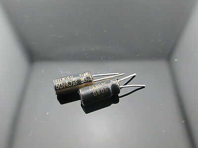 AU11.21 • Buy 20PCS-ELNA-4-7uF-50V-SILMIC-II-RFS-Silk-Audio-Capacitor-SILMICII-Japan-CAP