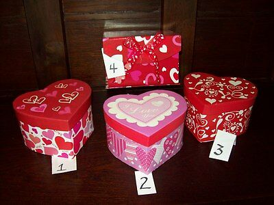 £5.71 • Buy NEW VALENTINE HEART SHAPED CONTAINER CANDY JEWELRY GIFT BOX 5  X 3