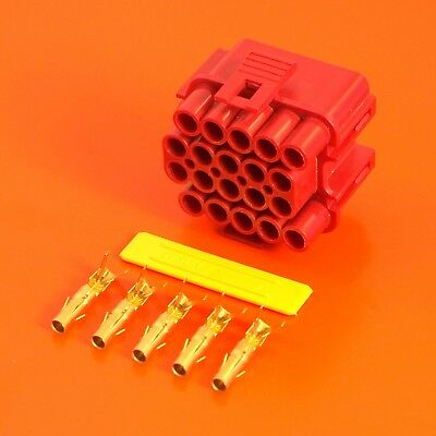 £24.95 • Buy Lucas Rists 20 Way Red Receptacle TTS Series Electrical Wiring Connector Kit
