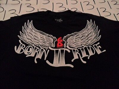 Large- Born To Ride T- Shirt • 2.89£