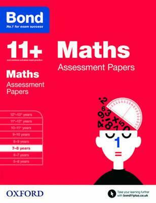 AU21.21 • Buy Bond 11+: Maths: Assessment Papers: 7-8 Years By Andrew Baines (English) Paperba