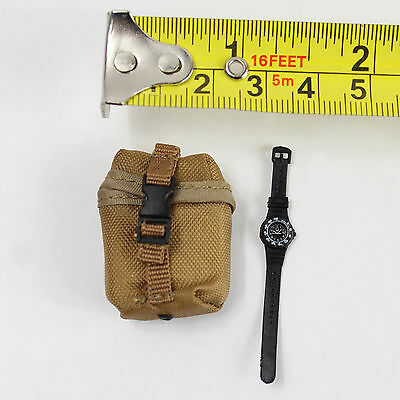$8.99 • Buy TA88-01 1:6 Soldier Story ACU M249 Gunner - Pouch&Watch