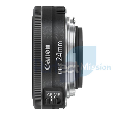 AU211.88 • Buy 100% New .  Genuine .  Canon EF-S 24mm F/2.8 STM Retail Pack  + Warranty