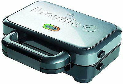 Breville Deep Fill Sandwich Toaster Stainless Steel Toastie NEW FREE P&P • 29.99£