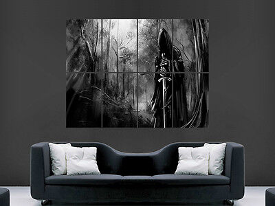 £17.99 • Buy Nazgul  Death Sword Creepy Gothic  Giant Wall Poster Art Picture Print Large
