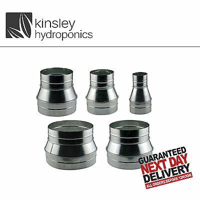 Ventilation Reducers 4 5 6 8 10 12 Inch Ducting Connector Grow Room Hydroponics • 8.50£