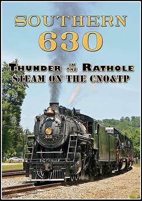 £16.31 • Buy Southern Railway 630 Thunder In The Rathole Steam On The CNO&TP DVD NEW