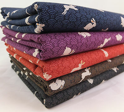 £9.95 • Buy Sevenberry Japanese Bunnies 100% Cotton Fabric