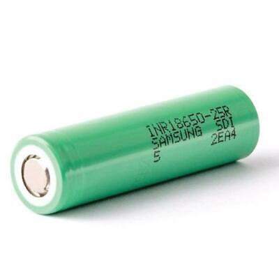 AU10.99 • Buy Samsung 25R INR 18650 20A 2500mAh 3.7V Rechargeable Lithium Battery