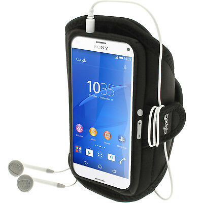 Running Jogging Sports Armband For Sony Xperia Z3 Compact D5803 5834 Fitness Gym • 1.99£