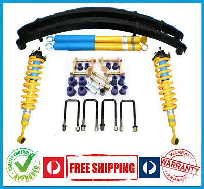 AU1900 • Buy NISSAN NAVARA 4X4 D40 06-ON 50MM BILSTEIN B6 SUSPENSION LOAD-LIFT KIT  - 300kg
