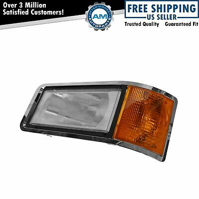 $115.98 • Buy Headlight & Bezel With Parking Lamp Assembly LH Left Driver Side For Mack New
