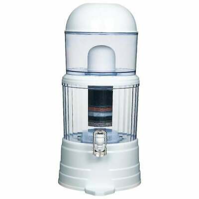 AU61.99 • Buy 16L Benchtop 8 Stage Water Filter Ceramic Carbon Mineral Stone Silica Purifier
